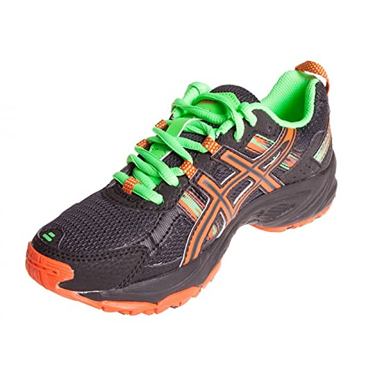 Asics Gel Venture 5 GS Boys Trail Running Shoe Black