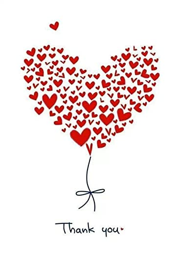 Image result for thank you hearts