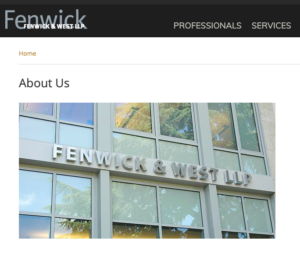 Image of Fenwick & West LLP offices