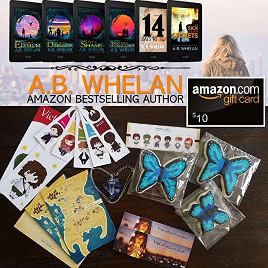 A B  Whelan's Blog - Giveaway - June 05, 2019 10:12