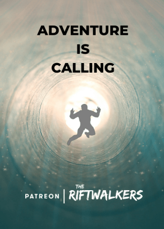 Adventure Is Calling: The Riftwalkers is on Patreon