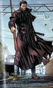 Image from graphic novel page featuring Harry Dresden - Welcome to the Jungle by Jim Butcher
