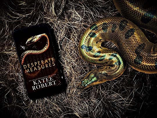 Desperate Measures (Wicked Villains, #1) by Katee Robert