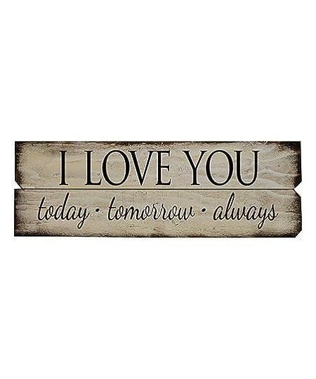 today tomorrow always