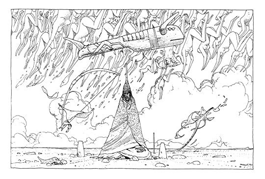 Moebius' 40 Days in the Desert
