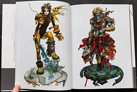 Katsuya Terada's Dragon Girl and Monkey King