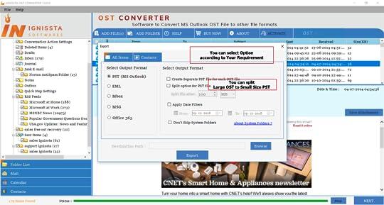 Cnet outlook pst repair