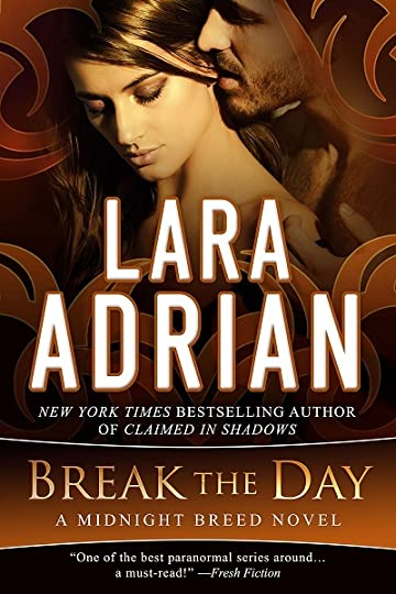 cover art for break the day by lara adrian