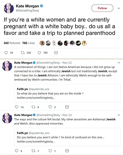 Not white people