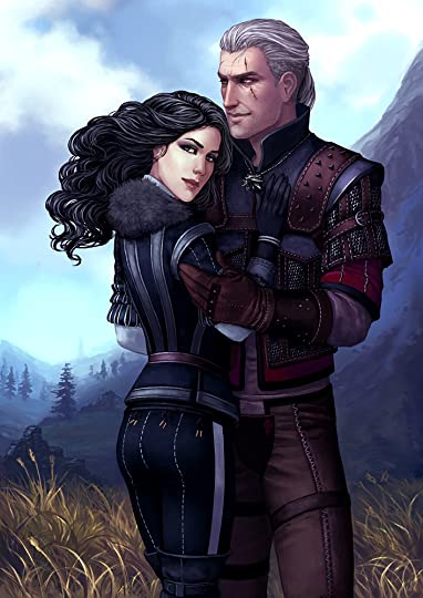 Image result for yennefer and geralt
