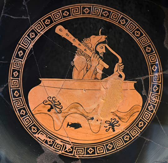 Heracles on Helios' bowl
