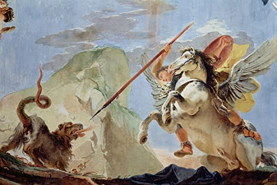Bellerophon slaying the Chimera
