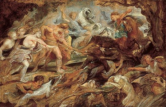 Atalanta and the Calydonian boar