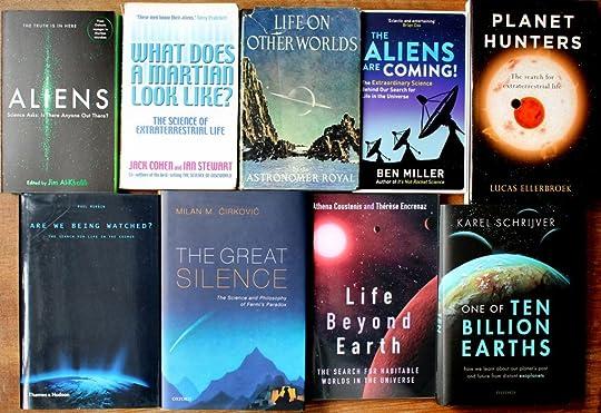 Astrobiology books