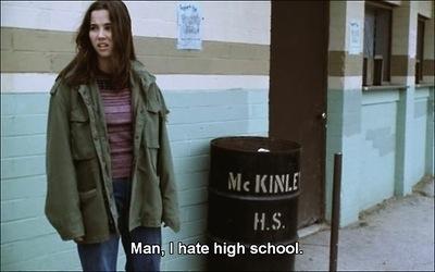 I hate high school.