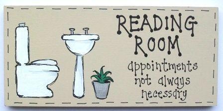 reading on bathroom - Google zoeken
