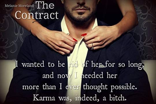 the contract melanie moreland - Google Search