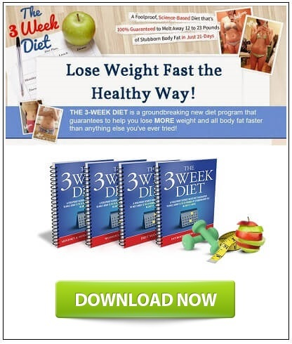 what is the 3 week diet system