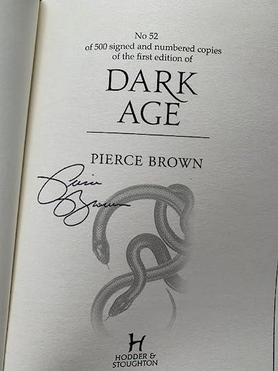 Dark Age (Red Rising Saga, #5) by Pierce Brown