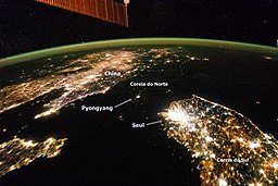 The Koreas at Night (PT)