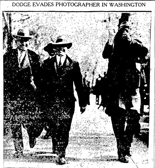 Franklin L. Dodge, Jr., tried to keep his photo from the newspaper reporters that tracked his every step. As the national spotlight intensified, he would soon be outed.