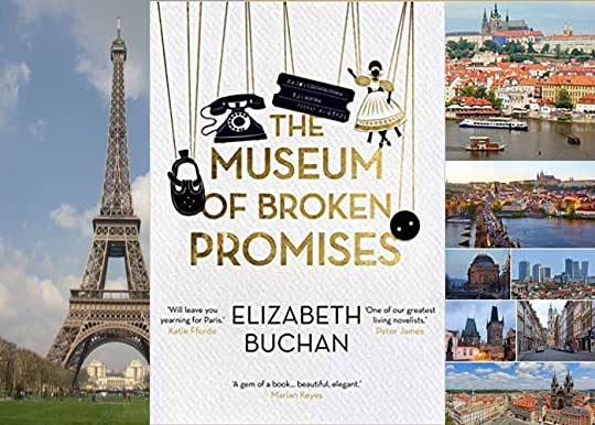 books set in prague, Paris and germany