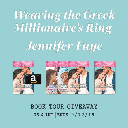Giveaway - Wearing the Greek Millionaire's Ring