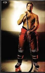sexy male hockey player