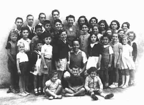 Jewish children hidden in Le Chambon