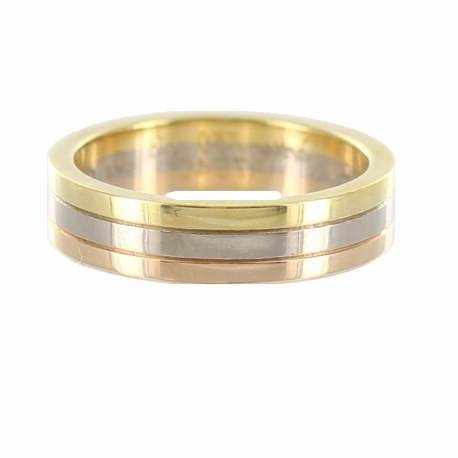 bague homme 3 or