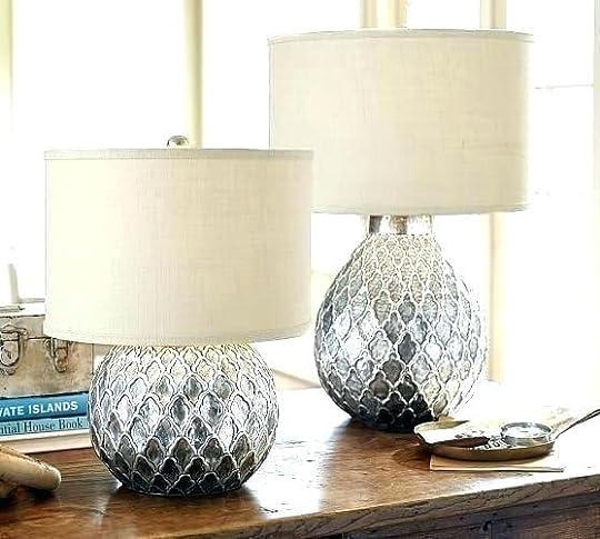pottery barn task lighting pottery barn table lamps lamp bases end shades task side t