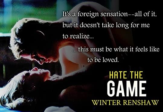 Image result for winter renshaw hate the game