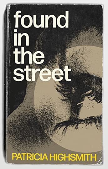 book cover design for Patricia Highsmith's Found in the Street