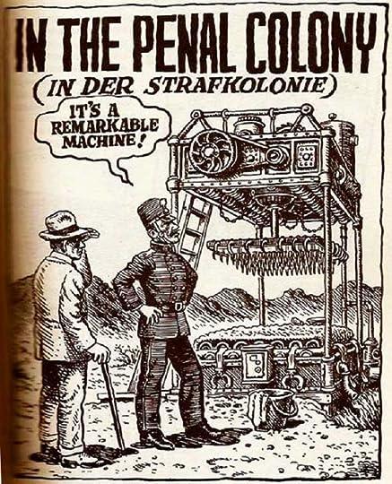 Image result for meme kafka penal colony