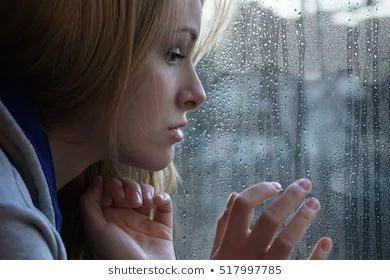 woman staring down from a bedroom window - Google Search