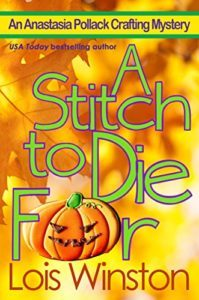 A Stitch to Die For by Lois Winston 5