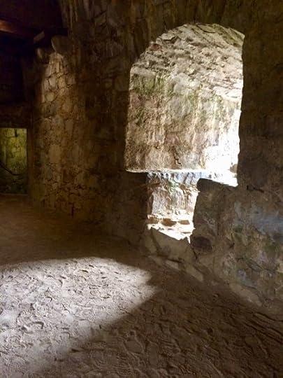 Earthen floor at Drum Castle