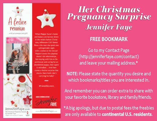 Bookmark - Her Christmas Pregnancy Surprise