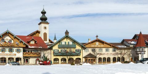 Image result for christmas town near michigan