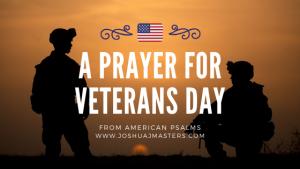 A Prayer for Veterans Day