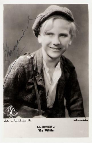 Jef Bruyninckx in De Witte (1934)