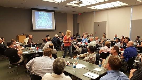 Kim Brainard Leading an Agile Workshop