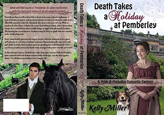 Death Takes a Holiday at Pemberley by Kelly Miller Full Wrap