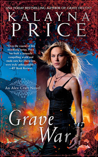Cover for GRAVE WAR by Kalayna Price