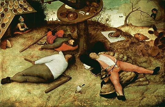 The Land of Cockaigne by Pieter Bruegel the Elder