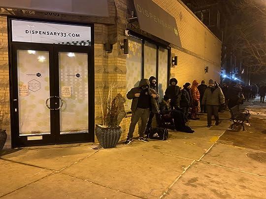 Chicago Marijuana Legalization Day at Dispensary 33
