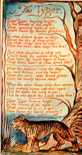 The Tyger Woodcut