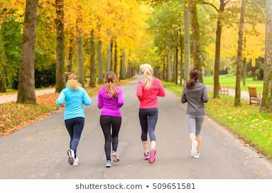 Group Woman Jogging Images, Stock ...