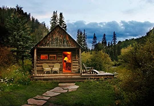 Image result for cabin on a mountain