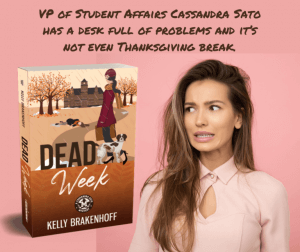 Dead Week Cover reveal teaser with quote